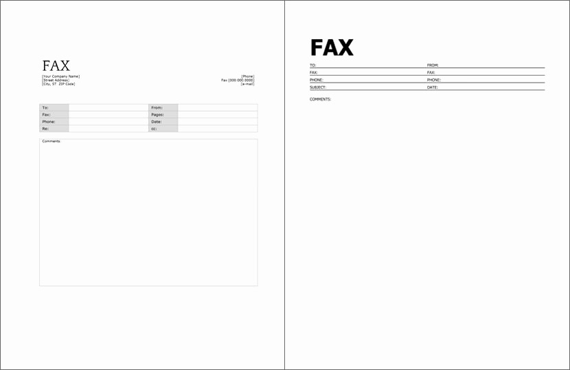 Fax Cover Sheets Microsoft Word Elegant 12 Free Fax Cover Sheet for Microsoft Fice Google Docs