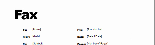 Fax Cover Sheets Microsoft Word Fresh Fax Templates ← Microsoft Word Templates