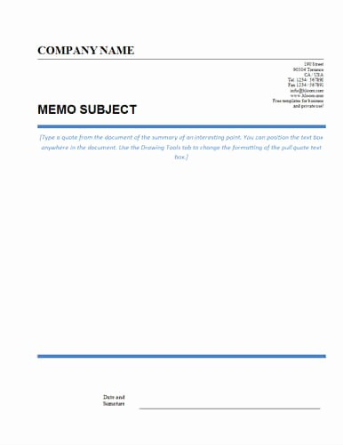 Fax Template In Word 2010 Awesome Fax Memo Template