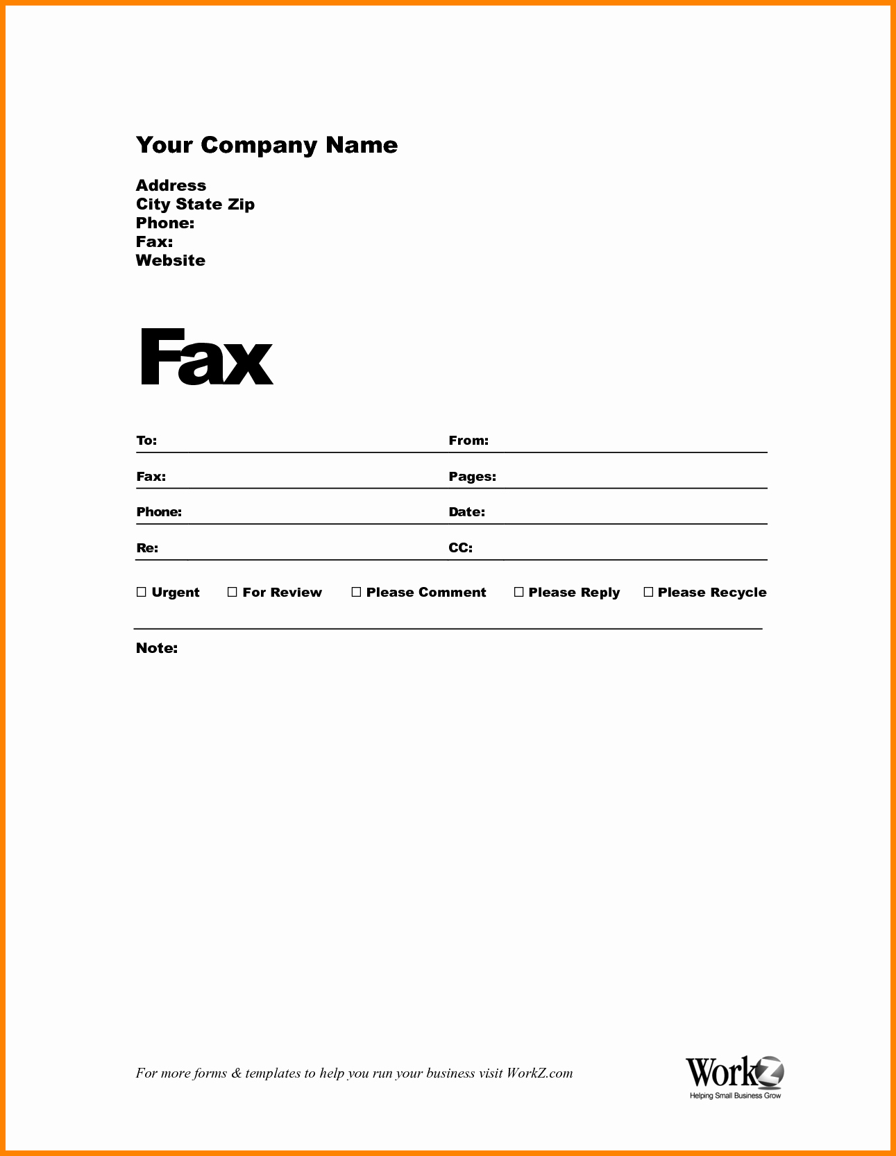 Fax Template In Word 2010 Fresh Microsoft Fice 2010 Fax Cover Sheet Template