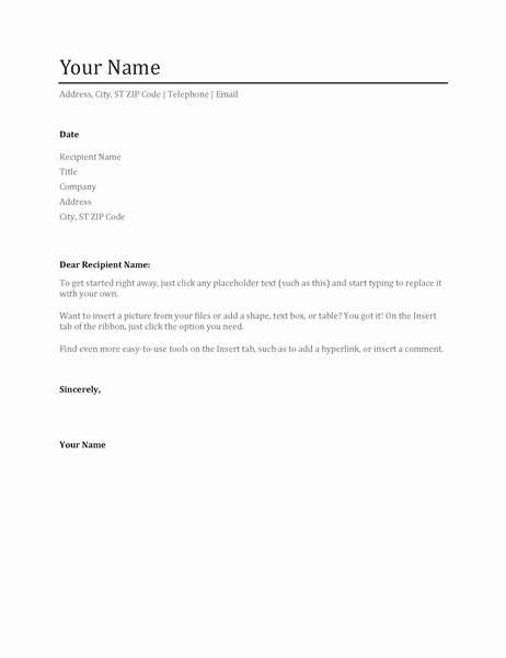 Fee Schedule Template Microsoft Office Beautiful Resume Cover Letter Template