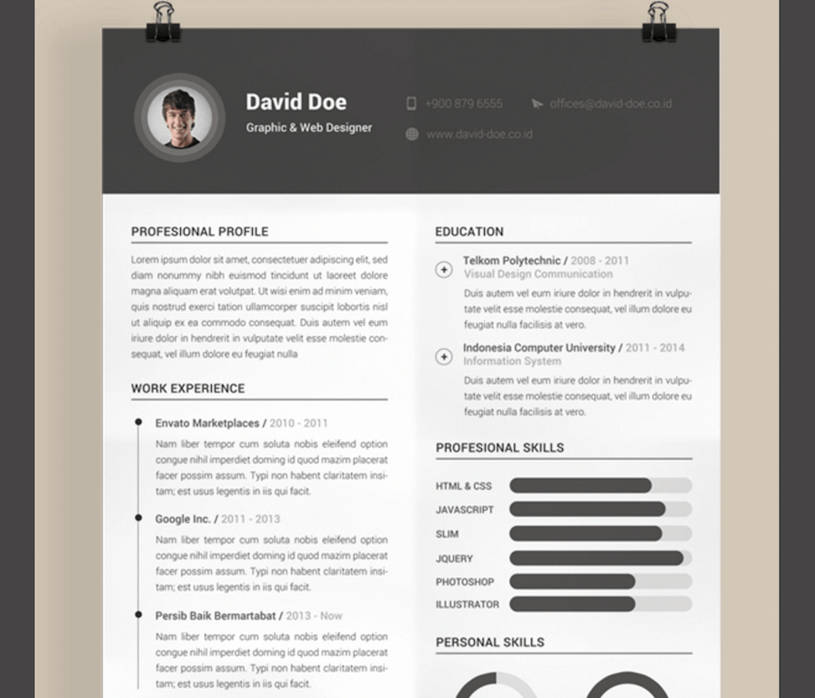 Fee Schedule Template Microsoft Office Elegant Resume Template Design Free Download