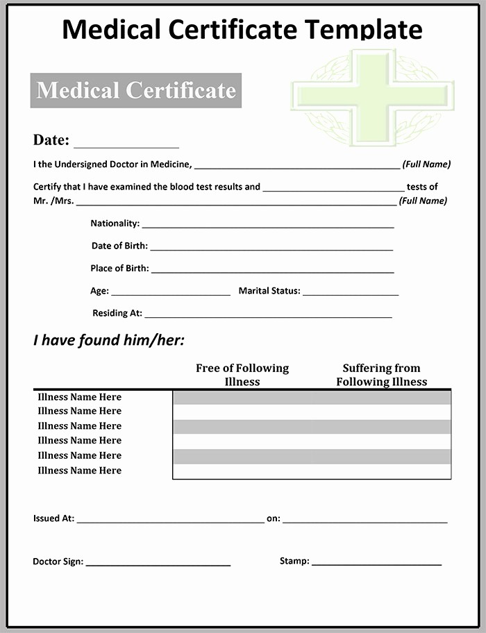 Fee Schedule Template Microsoft Office New Fake Medical Certificate Template Download