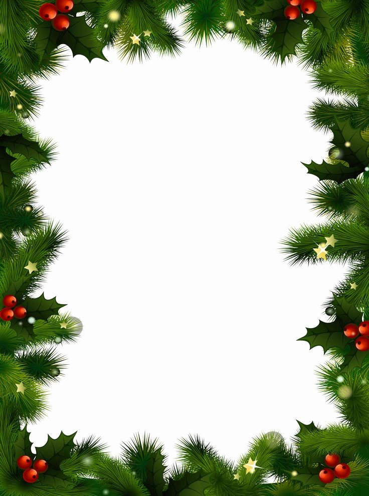 Festive Borders for Word Document Beautiful Free Christmas Clip Art Transparent Background – 101 Clip Art