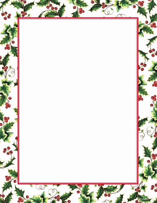 Festive Borders for Word Document Best Of Free Clip Art Christmas Holly Border Clipground