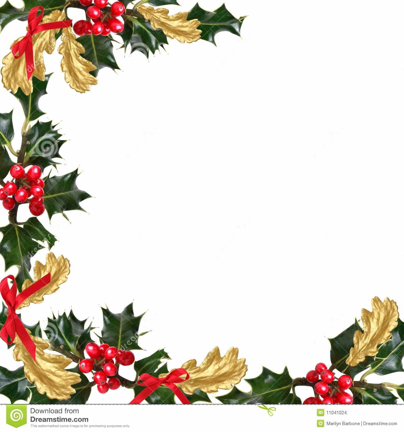 Festive Borders for Word Document Fresh Christmas Festive Border Stock Image