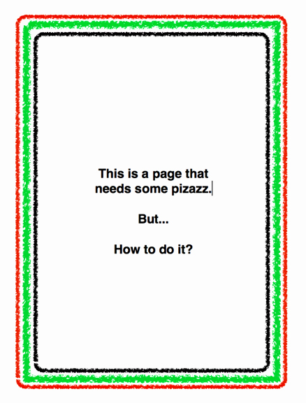 Festive Borders for Word Document Inspirational Add Page Borders In Apple Pages ask Dave Taylor