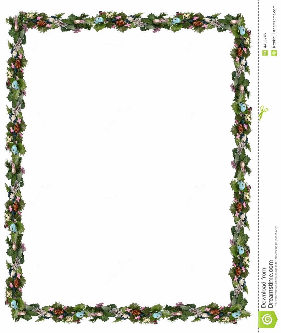 Festive Borders for Word Document Inspirational Winter Holiday Borders Clipart
