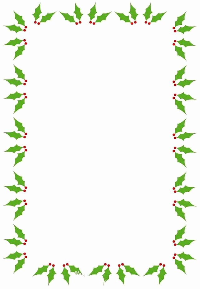 Festive Borders for Word Document Luxury 487 Free Christmas Borders and Frames