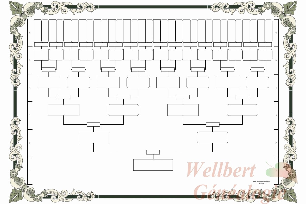 Fillable 6 Generation Family Tree Best Of 10 Best Of Family Tree Chart Fill In Free