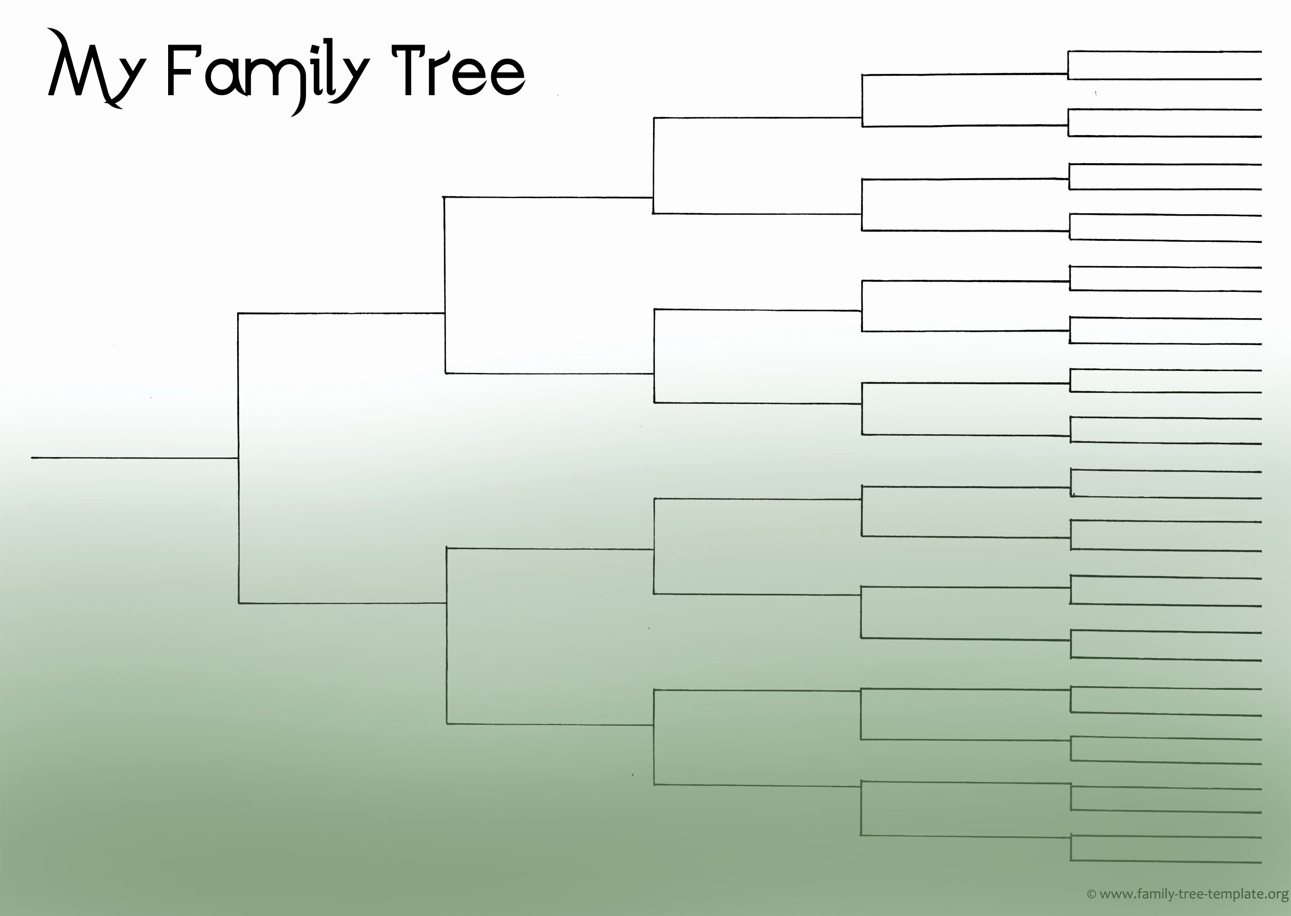 Fillable 6 Generation Family Tree Fresh Family Tree Template Resources