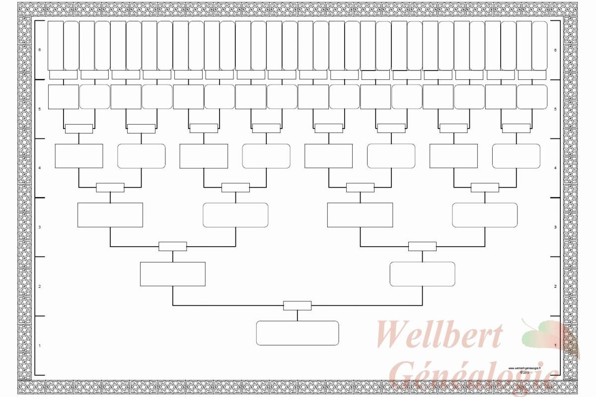 Fillable 6 Generation Family Tree Unique 12 Generation Family Tree Template Templates Data