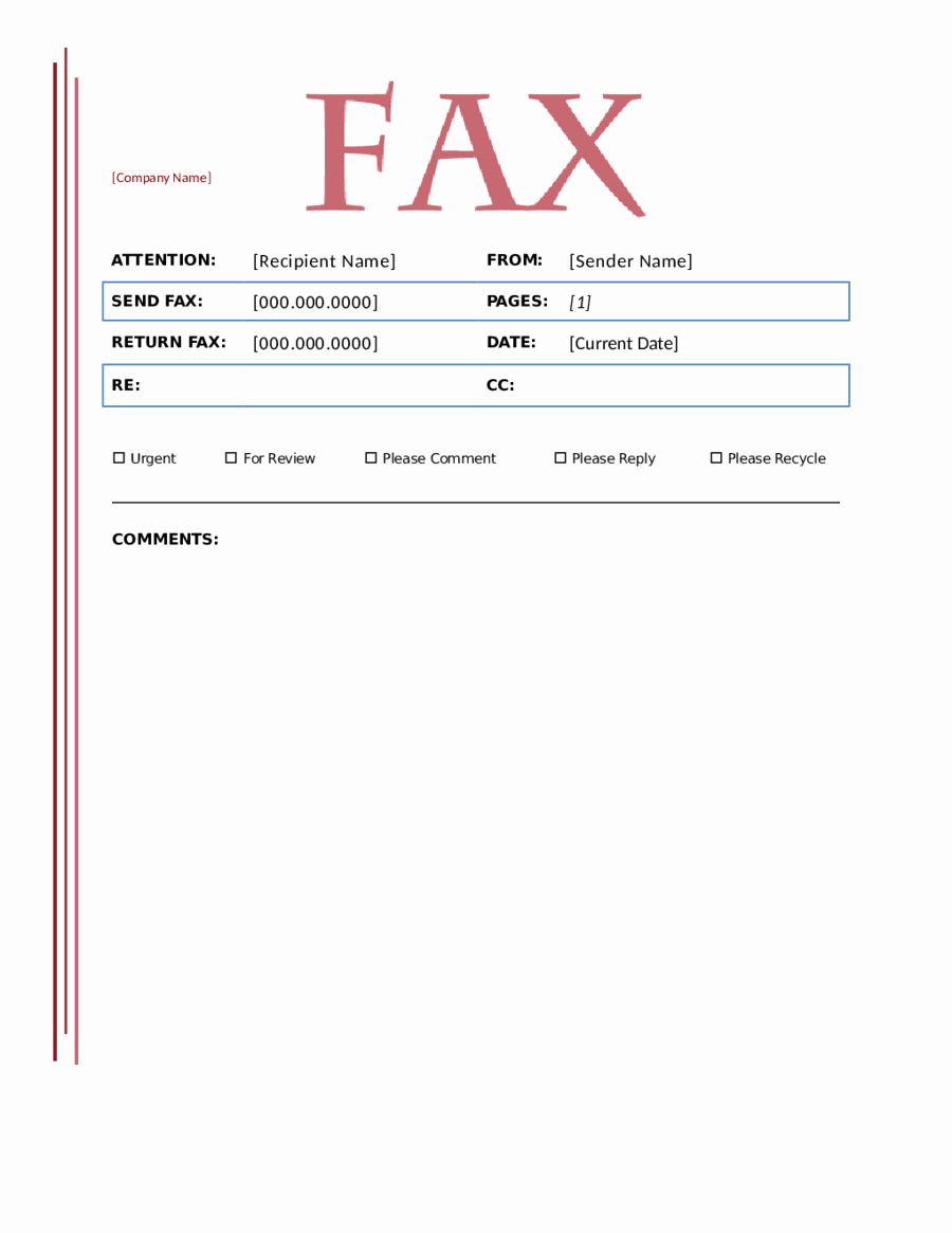Fillable Fax Cover Sheet Template Fresh 2018 Fax Cover Sheet Template Fillable Printable Pdf