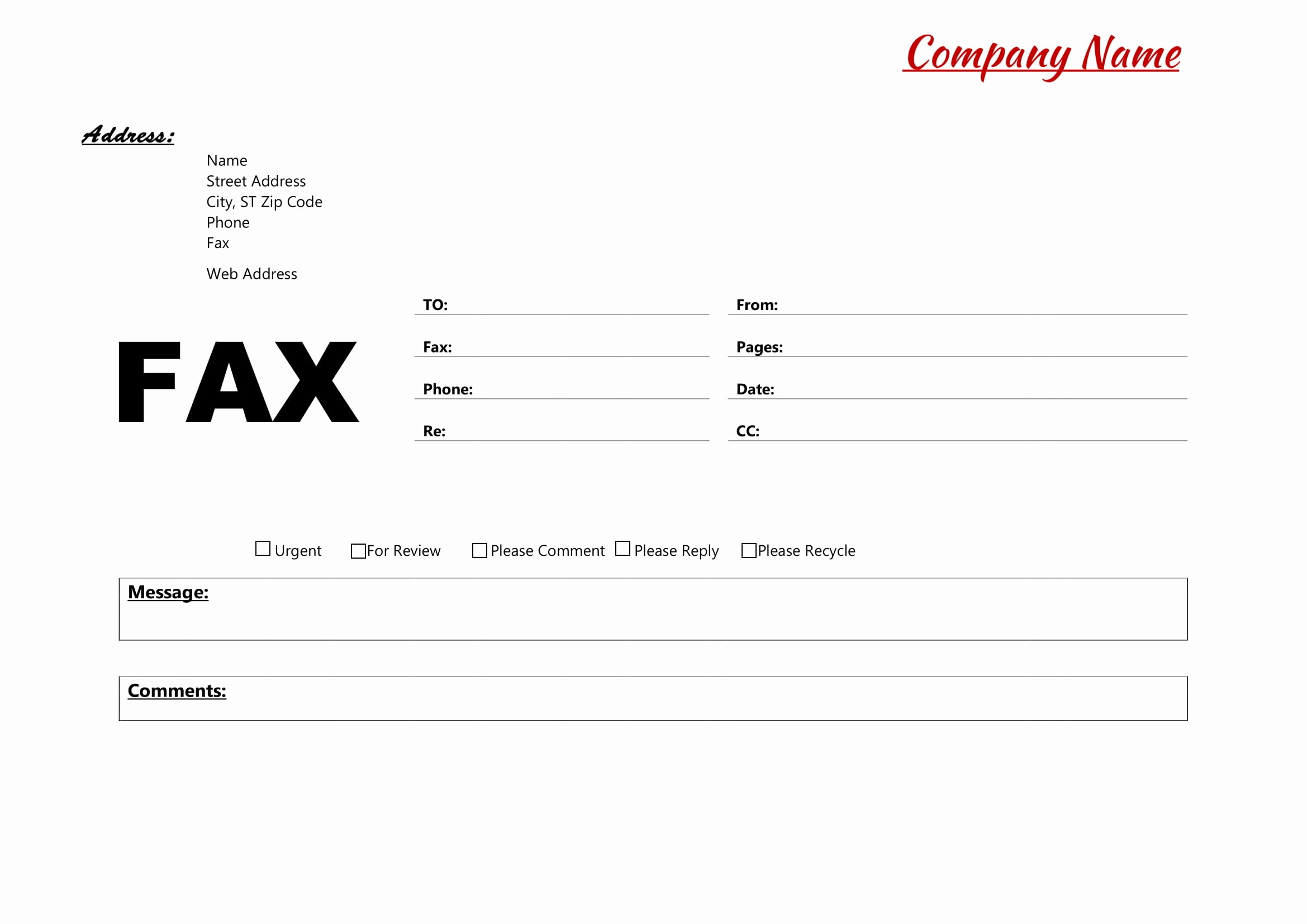 Fillable Fax Cover Sheet Template Luxury Fax Cover Sheet Template Page Sample Pdf Standard Free