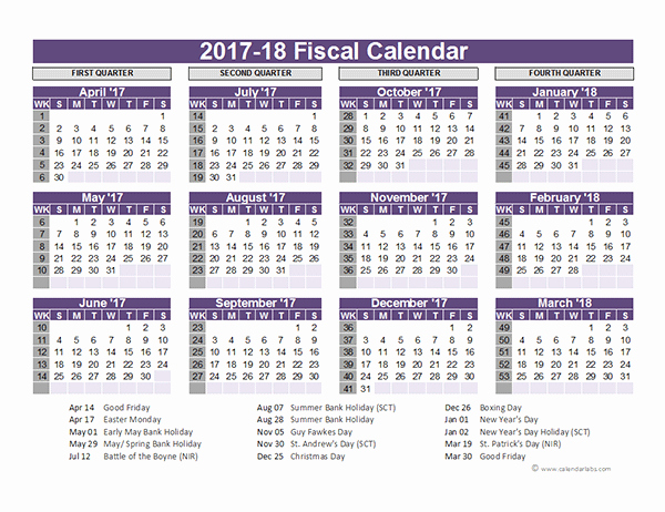Fiscal Year Calendar 2016 Template Awesome 21 Free Calendar Template 2016 2017 2018 for Word and Excel