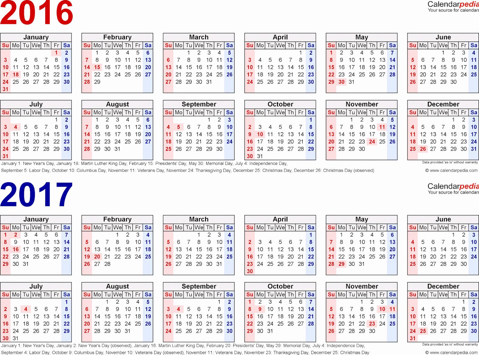 Fiscal Year Calendar 2016 Template Elegant Fiscal Year Calendar 2016 2017 Printable