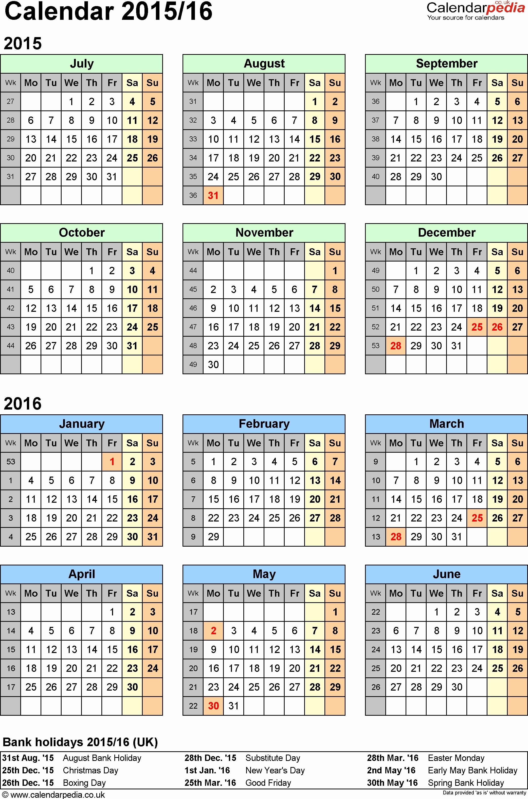 Fiscal Year Calendar 2016 Template Luxury Army Fiscal Year 2016 Calendar