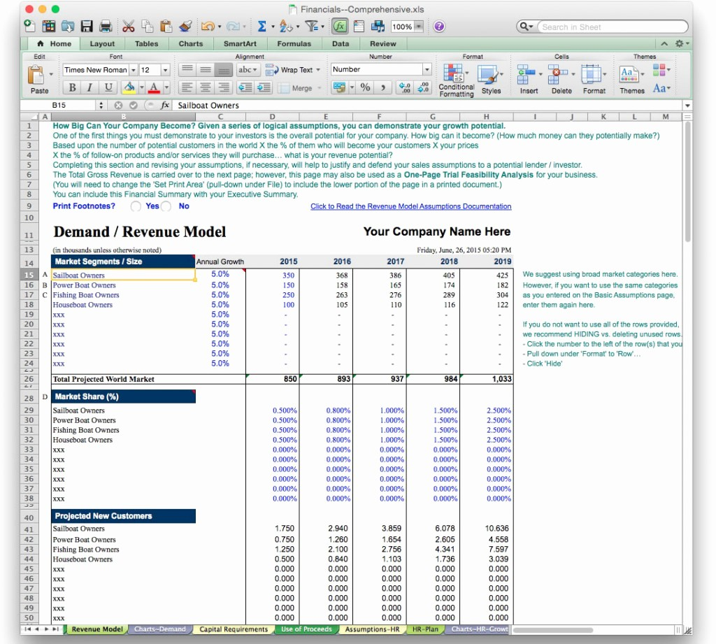 Five Year Plan Template Excel Beautiful Personal 5 Year Plan Template Excel