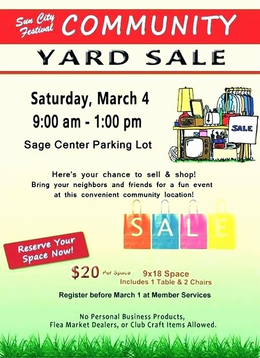 Flea Market Flyer Template Free Awesome Flea Market Poster by Neighborhood Free Templates for