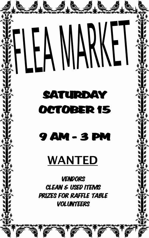 Flea Market Flyer Template Free Best Of Flea Market Flyer Template Yourweek C5e530eca25e