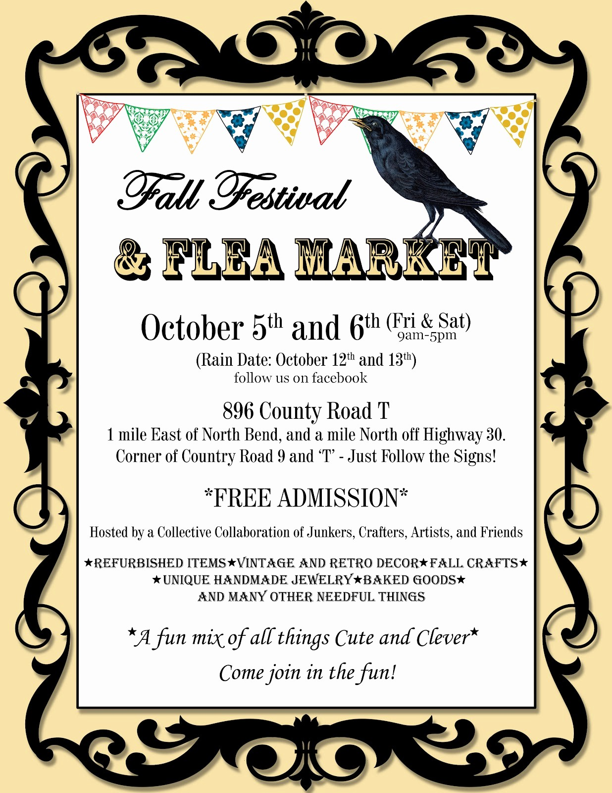 Flea Market Flyer Template Free Best Of This Art that Makes Me Happy Halloween Crafts and
