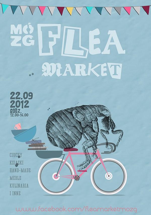 Flea Market Flyer Template Free Fresh Flea Market Posters On Behance