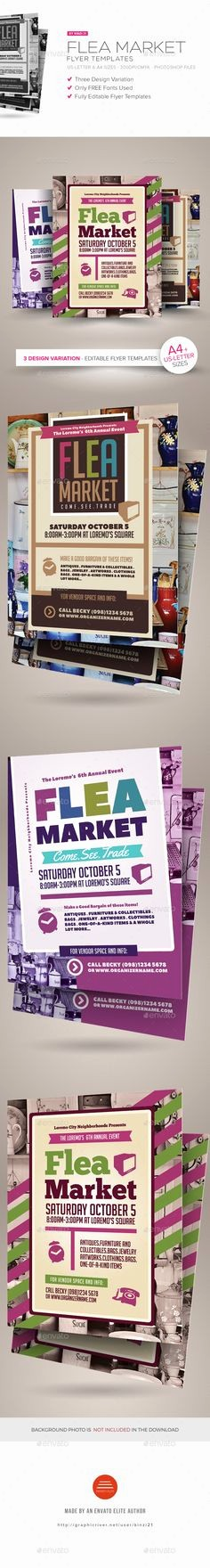 Flea Market Flyer Template Free Fresh Pinterest • the World's Catalog Of Ideas