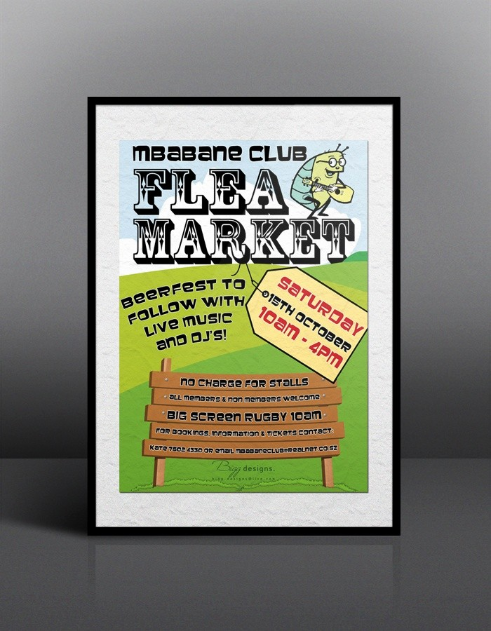 Flea Market Flyer Template Free Inspirational Flea Market Flyer Design Flyer Designs