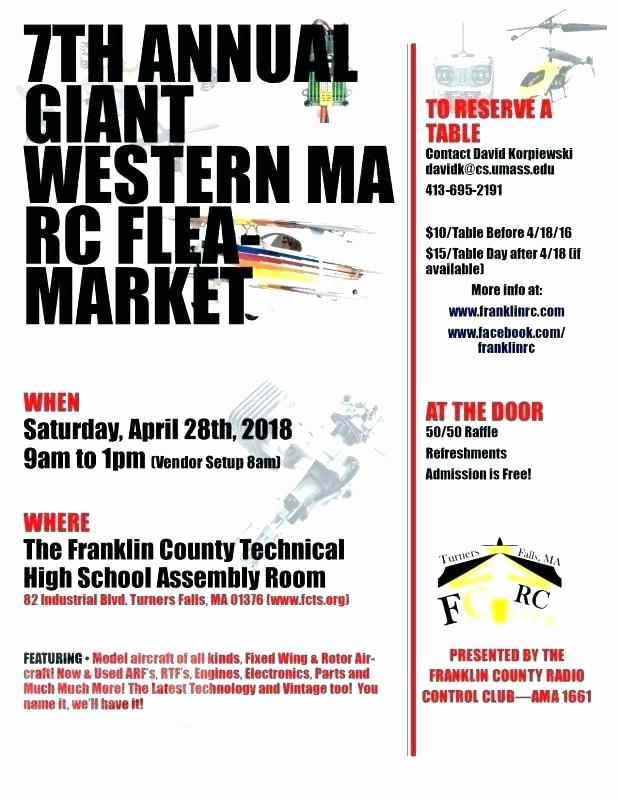 Flea Market Flyer Template Free Lovely Raffle Ticket Flyer Template Flea Market Flyer Template
