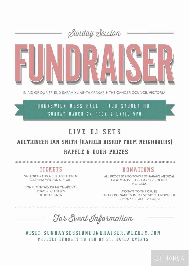 Flyers for Fundraisers Template Free Awesome 7 Best Fundraiser Invite Wording Images On Pinterest