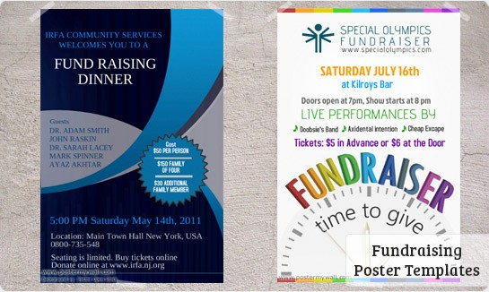 Flyers for Fundraisers Template Free Beautiful Fundraising Posters Templates & Downloads