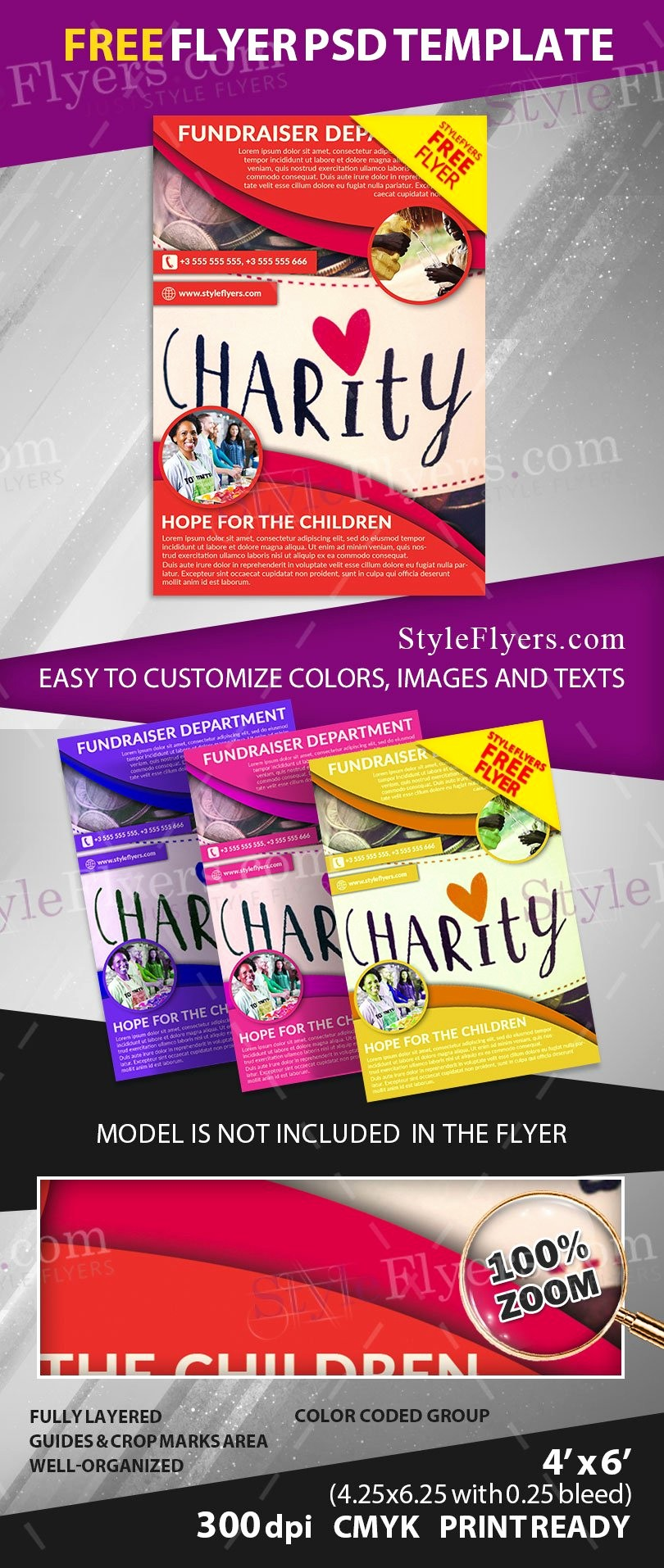 Flyers for Fundraisers Template Free Fresh Fundraiser Free Psd Flyer Template Free Download