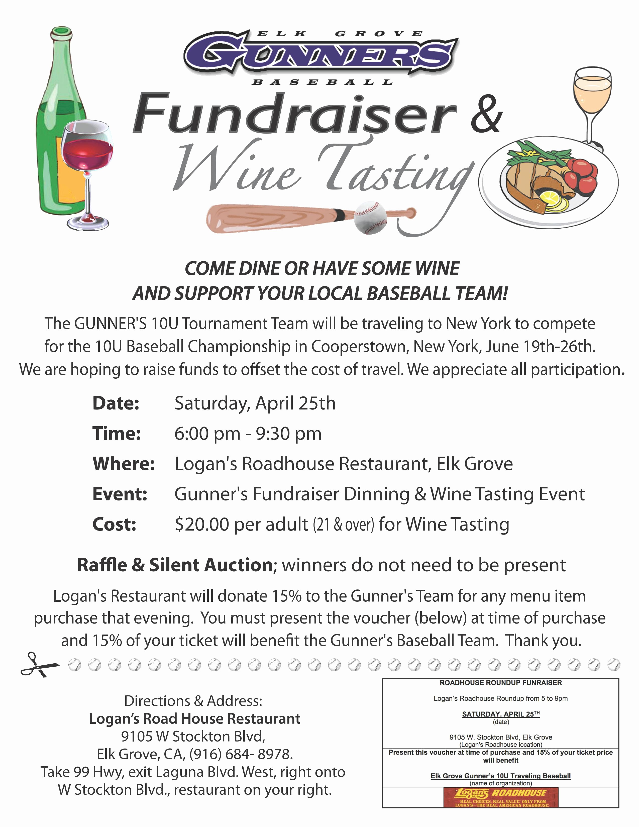 Flyers for Fundraisers Template Free New Baseball Fundraiser Flyer Template Yourweek Eca25e