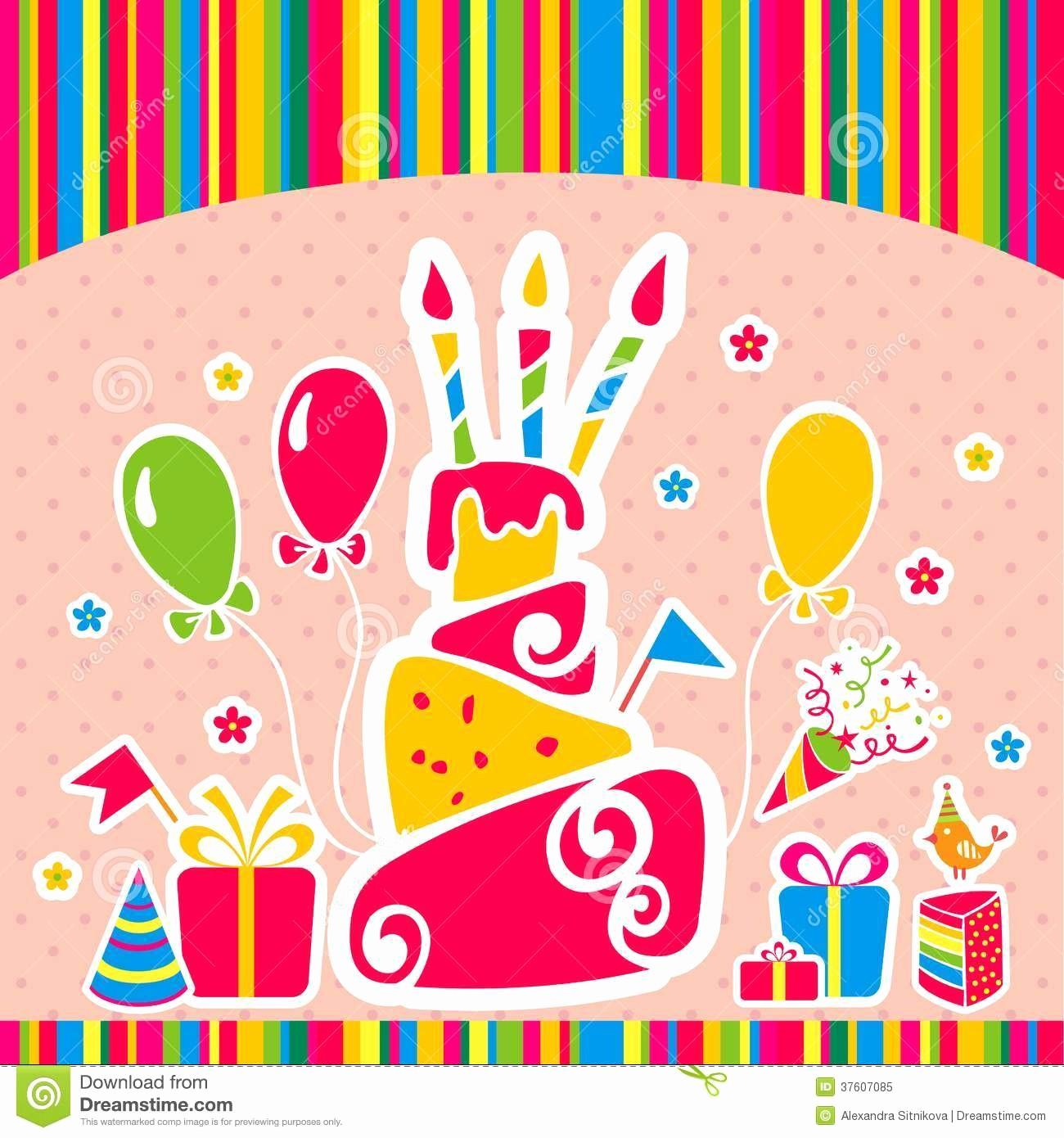 Fondos Para Tarjetas De Cumpleaños Best Of Fondo Del Feliz Cumpleaños Del Vector Tarjeta De