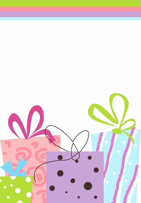 Fondos Para Tarjetas De Cumpleaños Elegant Invitación Gratis De Cumpleaños Para Imprimir Muchos