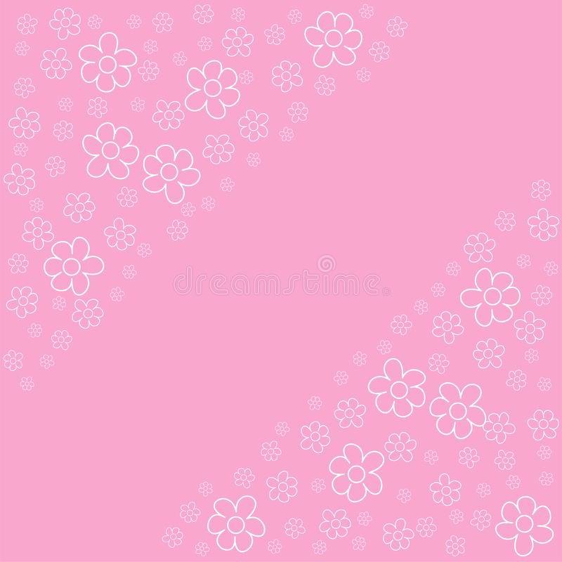 Fondos Para Tarjetas De Cumpleaños Luxury Marco Floral Abstracto En Un Fondo Rosado Para Las