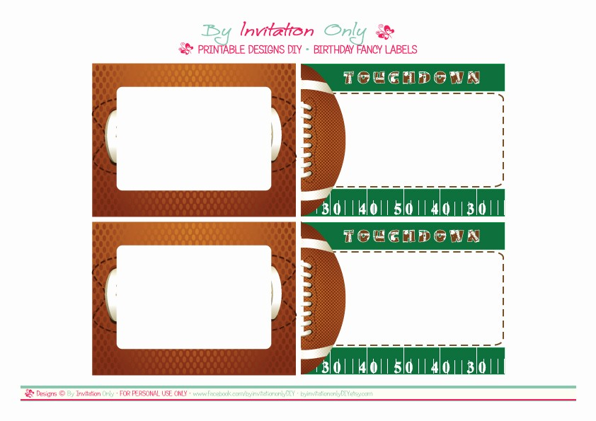 Football Ticket Template Free Download Lovely Football Ticket Template Clipart Best