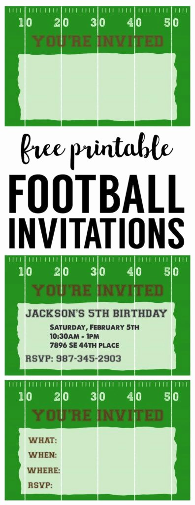 Football Ticket Template Free Download New 25 Best Ideas About Football Invitations On Pinterest