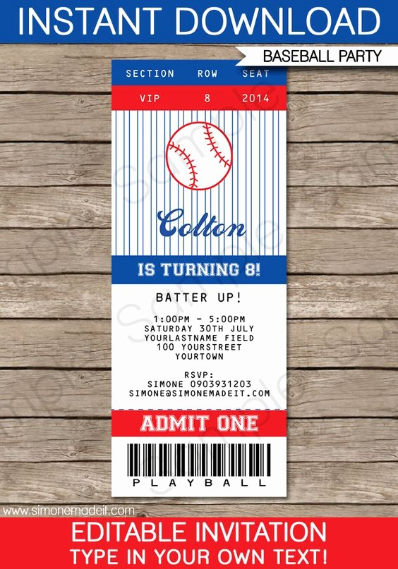 Football Ticket Template Free Download Unique Pinterest • the World's Catalog Of Ideas