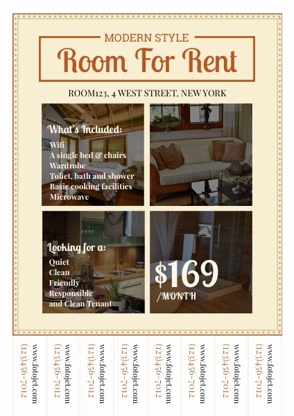 For Rent Flyer Template Free Beautiful Rental Room Collage Real Estate Flyer Template Templ