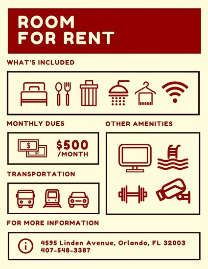 For Rent Flyer Template Free Best Of Apartment for Rent Flyer Template Yourweek 4e4a29eca25e