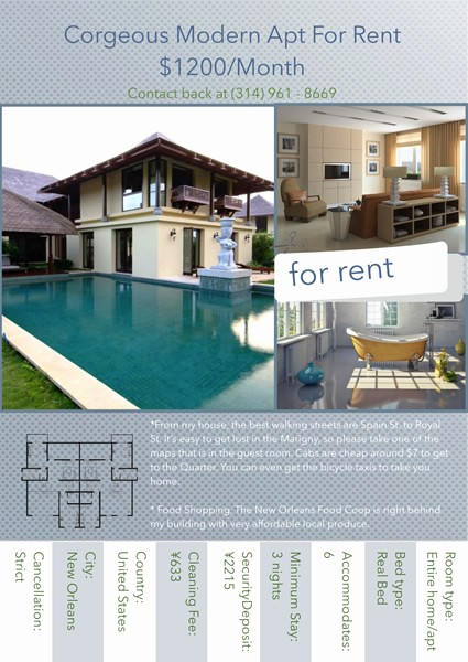 For Rent Flyer Template Free Inspirational Apartment for Rent Flyer Template Yourweek 4e4a29eca25e