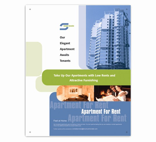 For Rent Flyer Template Free Luxury Low Rent Apartment Flyer Templates