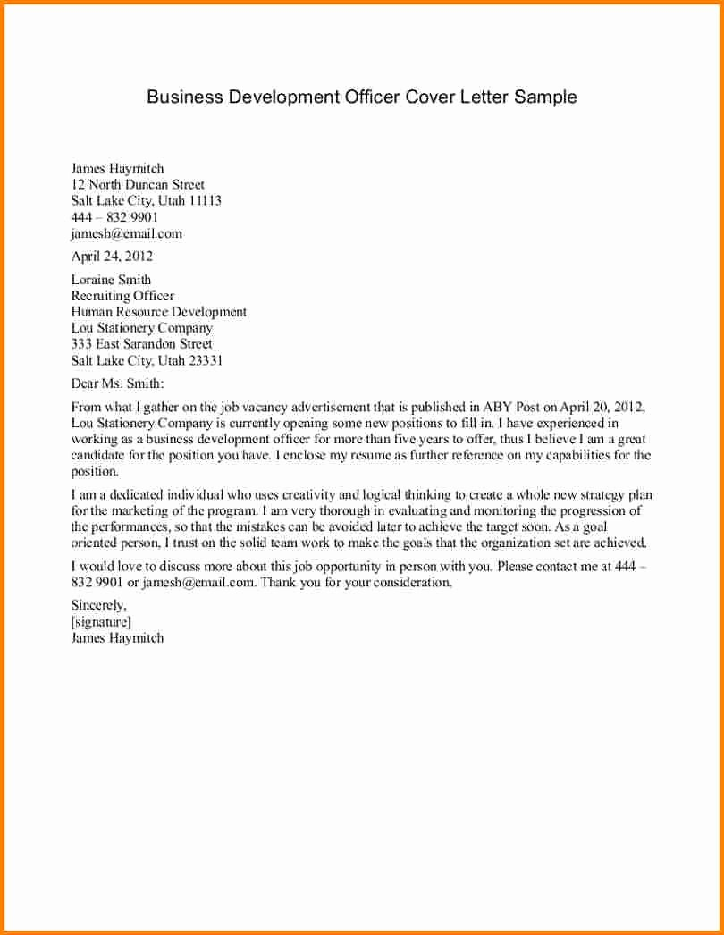 Formal Business Letter format Template Elegant Business Letter Example for A Pany