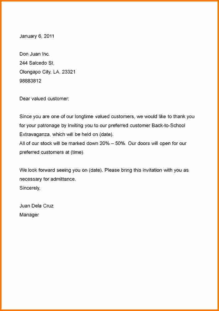 Formal Business Letter format Template Unique formal Business Letter to Pin On Pinterest