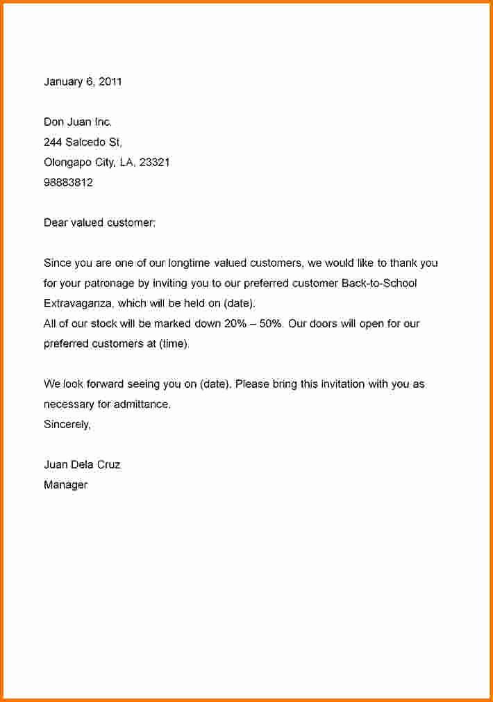 Formal Business Letter format Template Unique formal Business Letter to Pin On Pinterest
