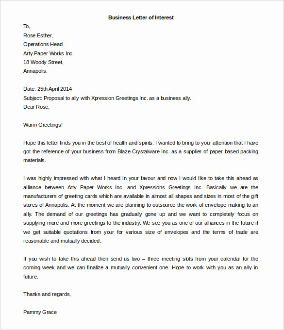 Formal Business Letter Template Word Awesome 50 Business Letter Template Free Word Pdf Documents