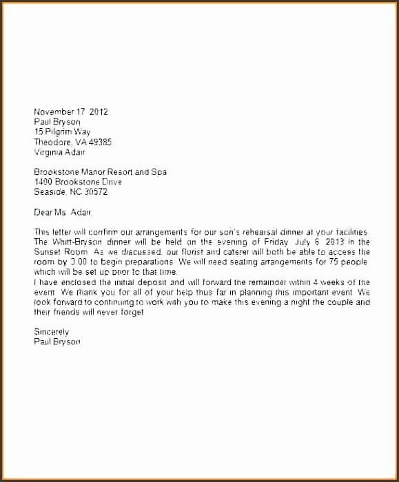 Formal Business Letter Template Word Luxury 9 formal Letter Template Word Sampletemplatess