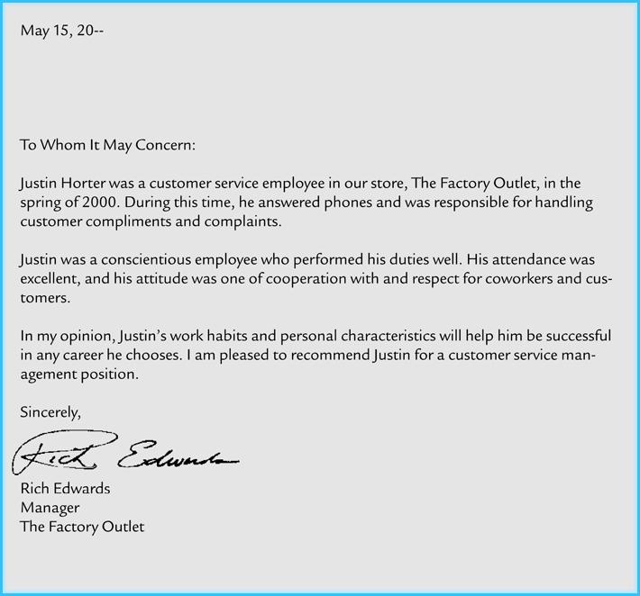 Formal Letter Of Recommendation Template Fresh Business Re Mendation Letter 10 Samples formats