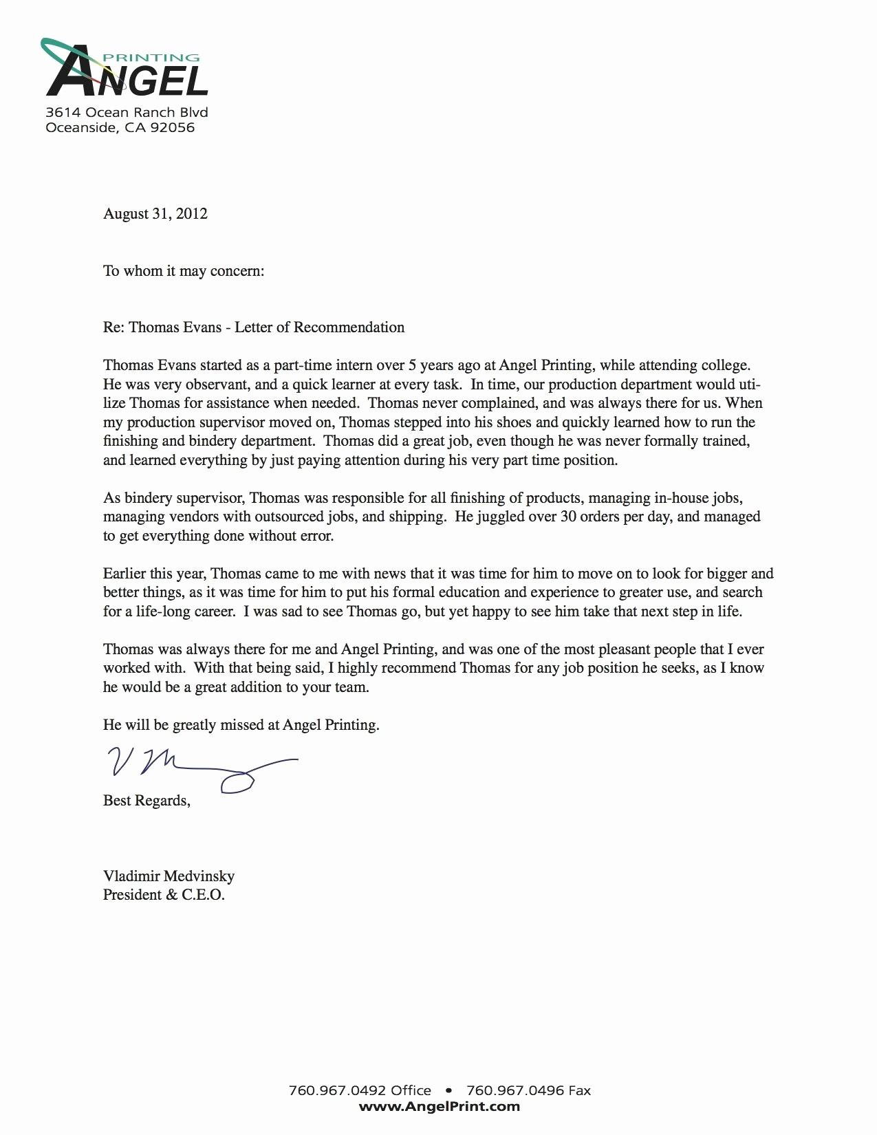 Formal Letter Of Recommendation Template Lovely Samples Re Mendation Lettersletter Re Mendation